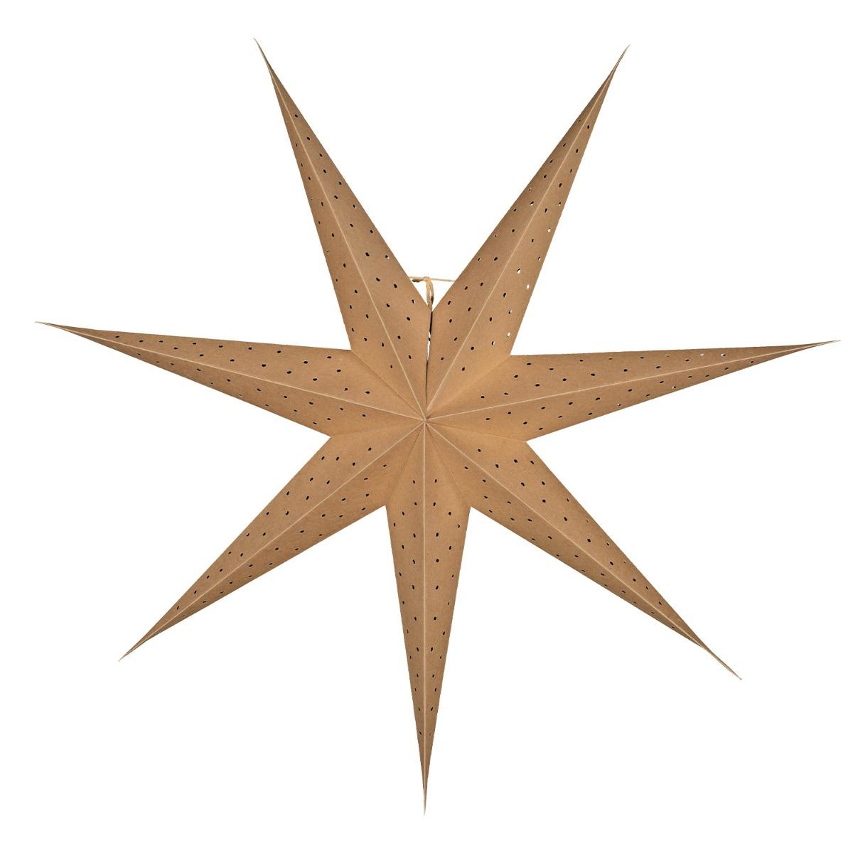 Designtorget Adventsstjärna Stella 80 cm Natur