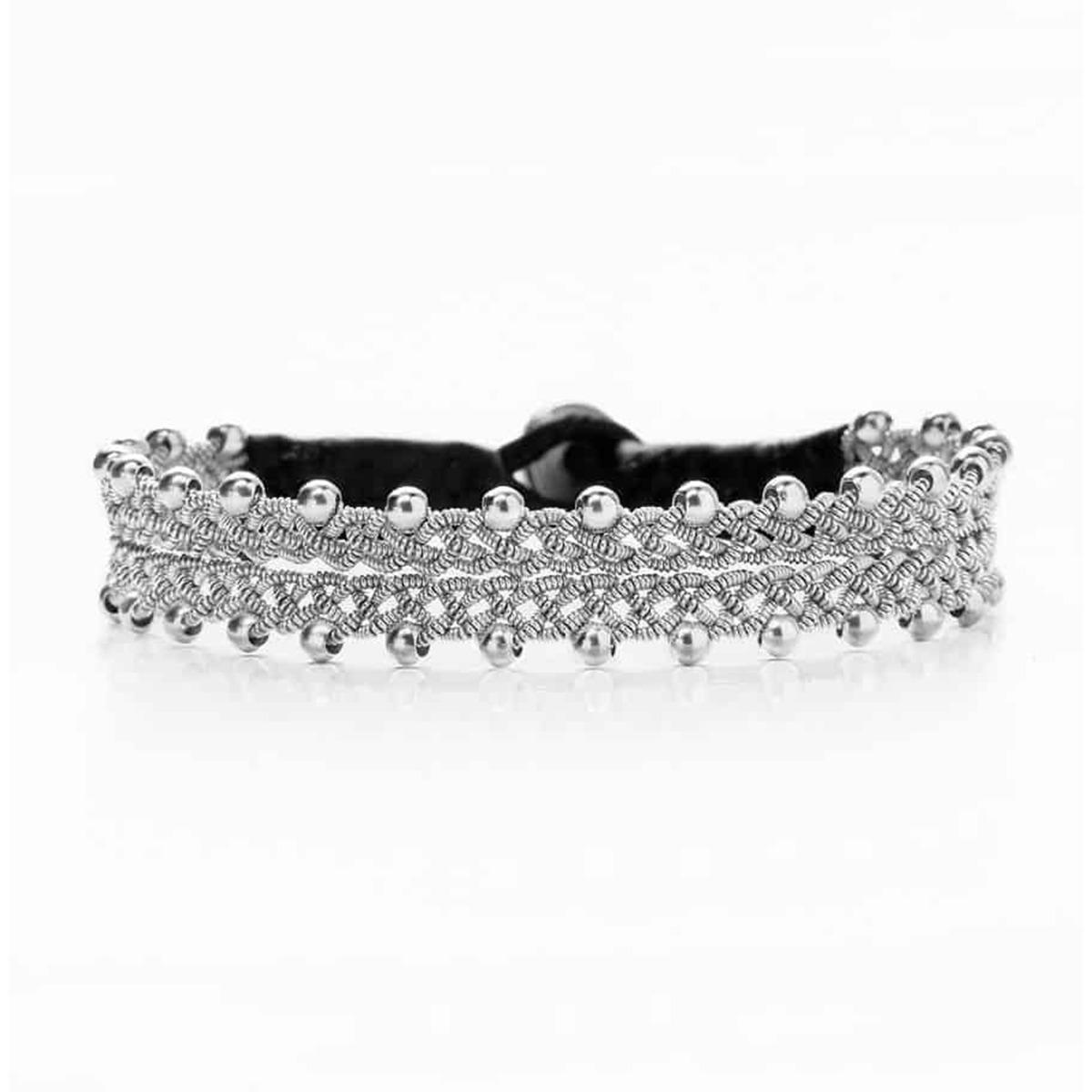 Designtorget Armband tenn/silver 17