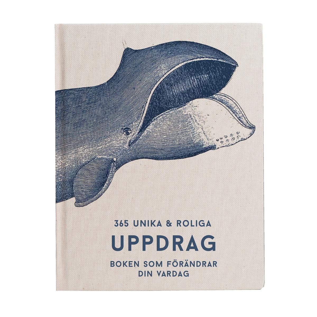 Designtorget Bok 365 roliga och unika uppdrag