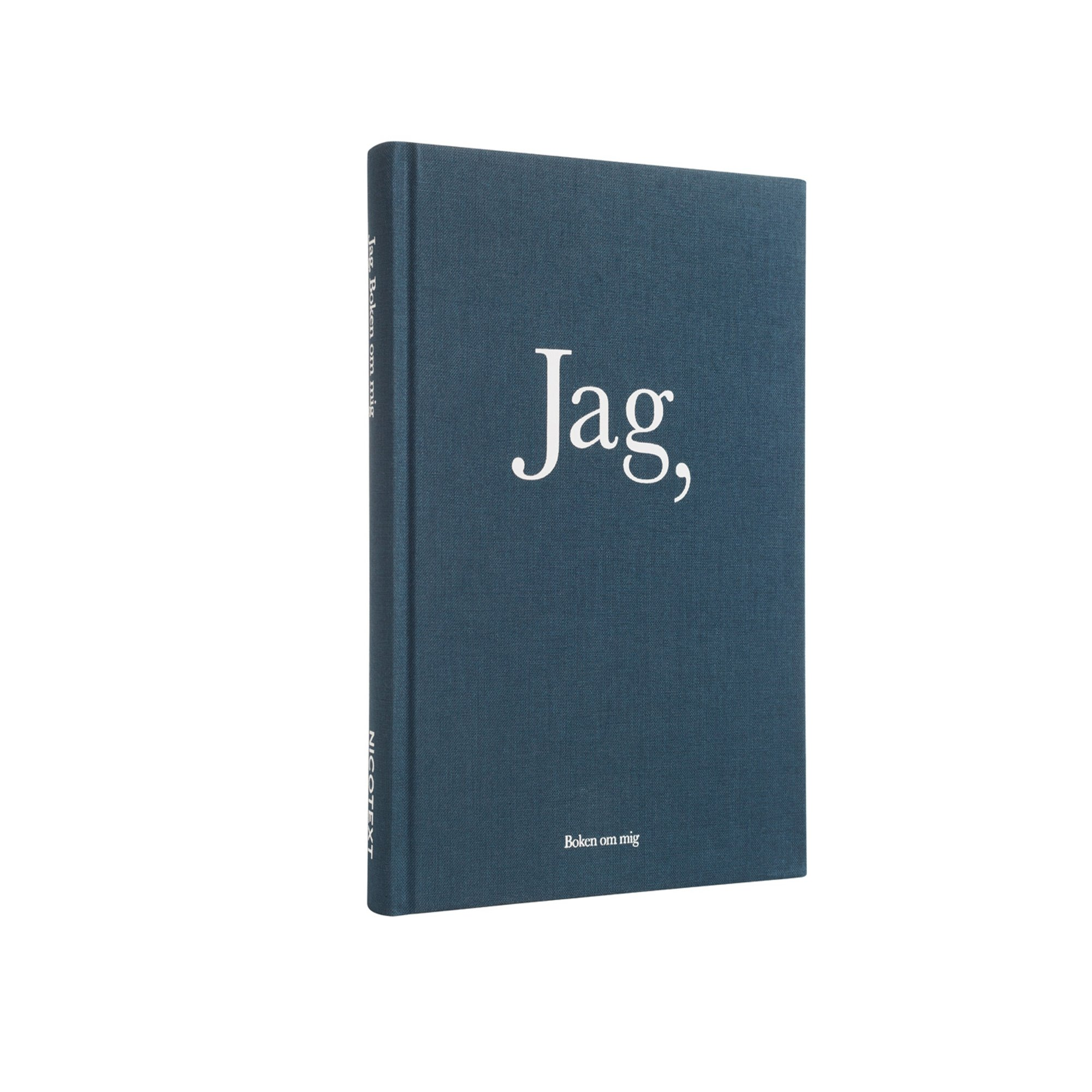 Designtorget Bok JAG: Boken om mig