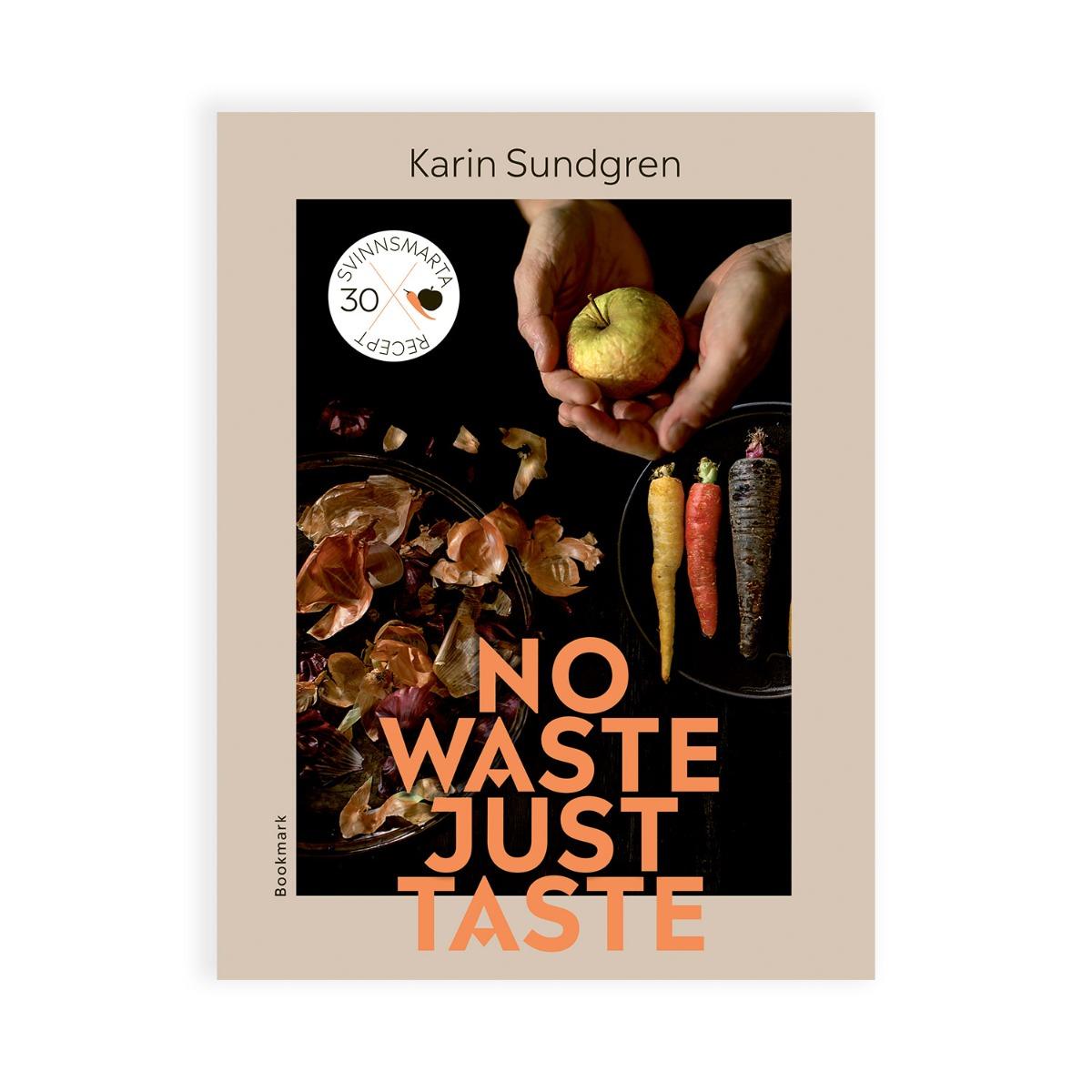 Designtorget Bok No Waste, Just taste