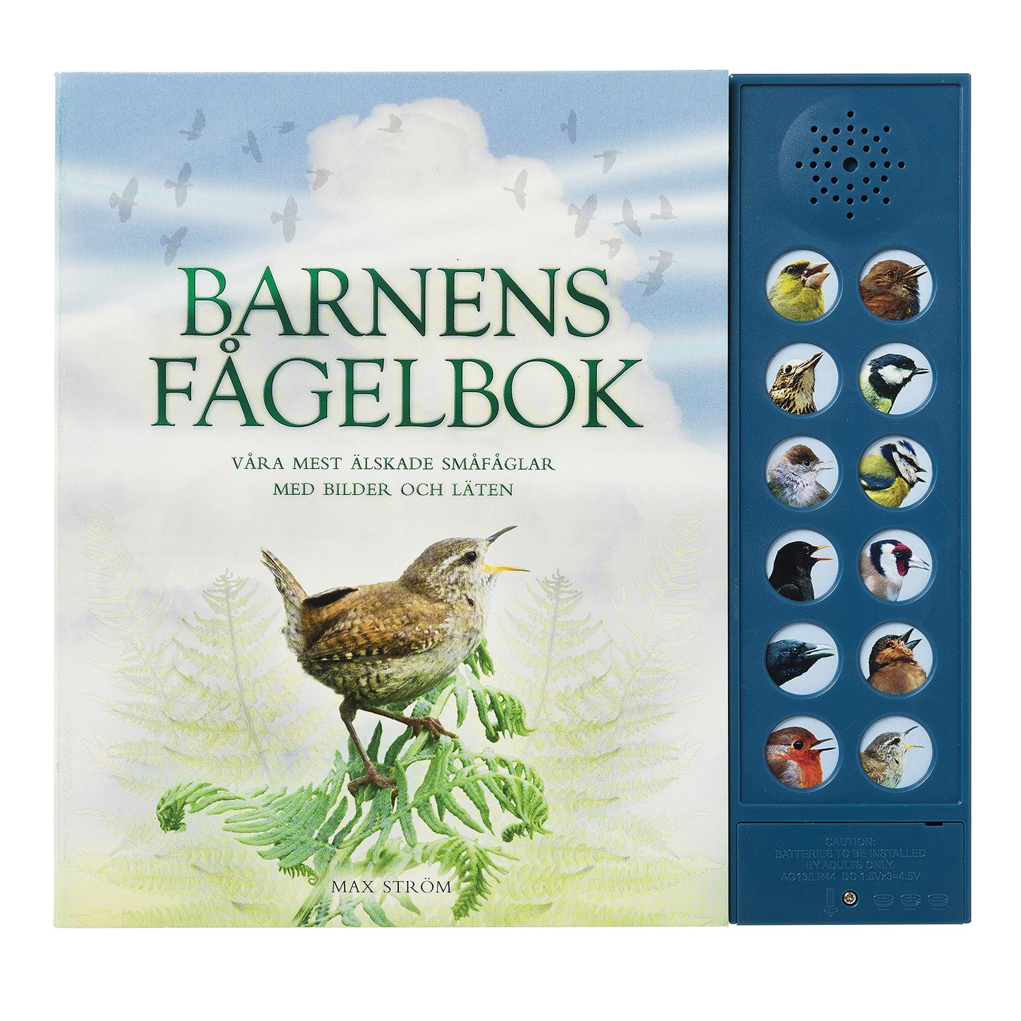Designtorget Bok Barnens Fågelbok