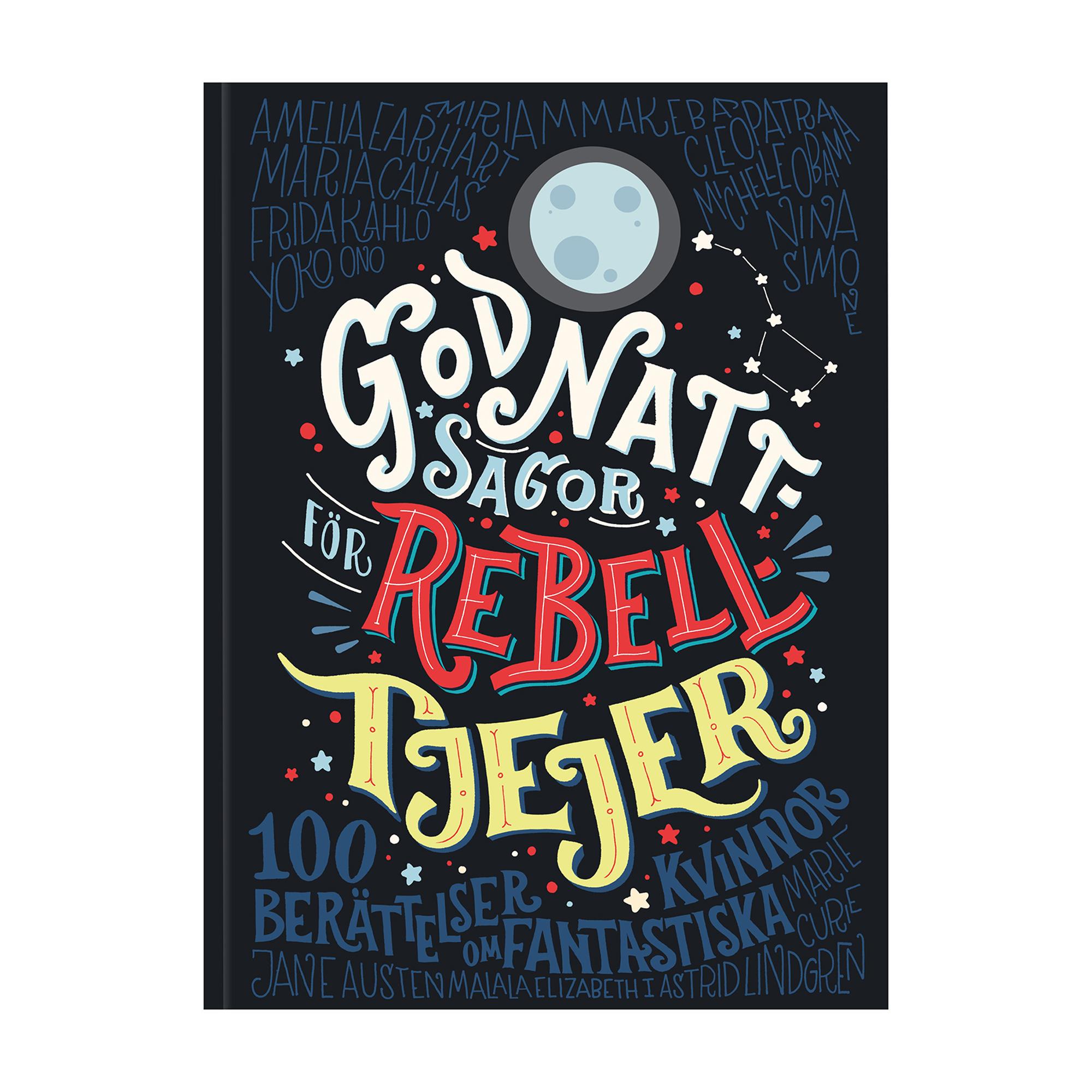 Designtorget Bok Godnattsagor Rebelltjejer