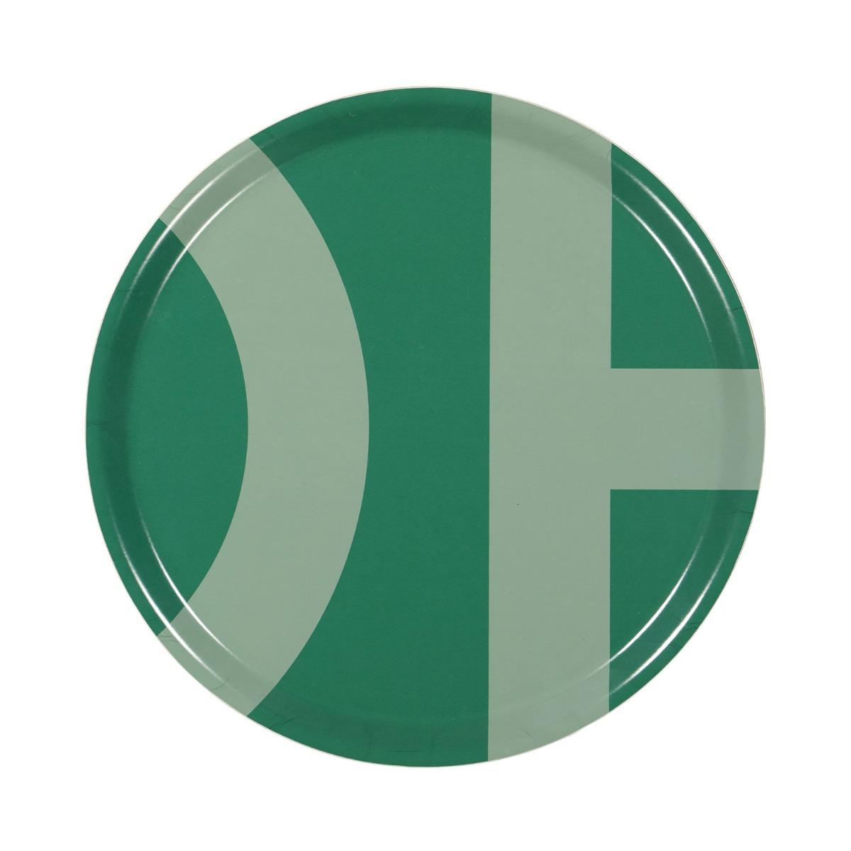 Designtorget Bricka DT 38 cm Grön