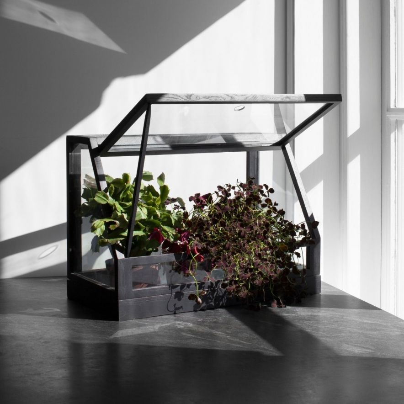 Växthus Greenhouse Mini Grå