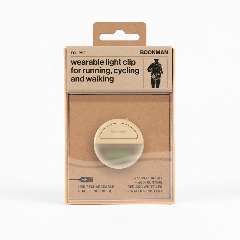 Clip-On Eclipse Lampa Beige
