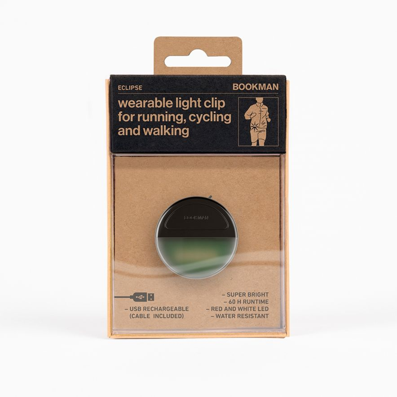 Clip-On Eclipse Lampa Svart