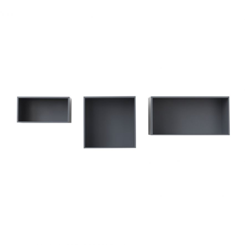 Hylla Mini Stacked M mögrå