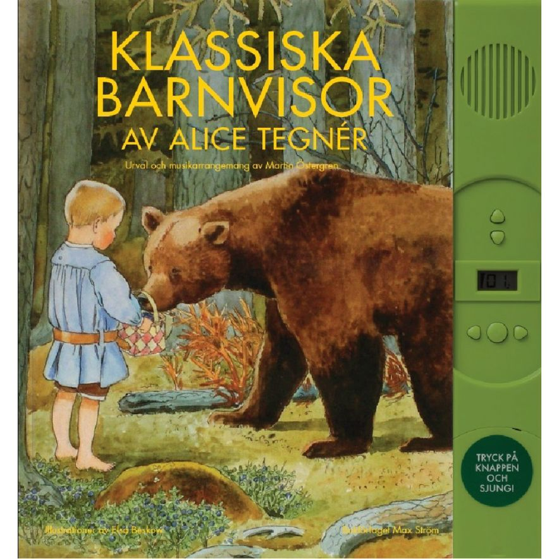 Bok Klassiska barnvisor av Alice Tegnér