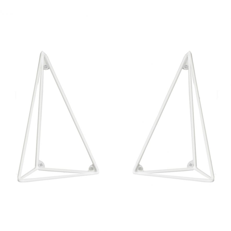 Konsol Pythagoras vit 2-pack