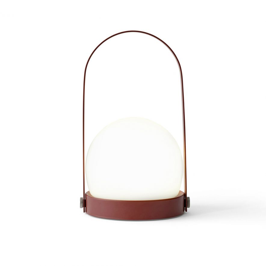 Lampa Carrie LED burned red