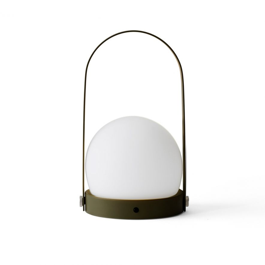 Lampa Carrie LED olive