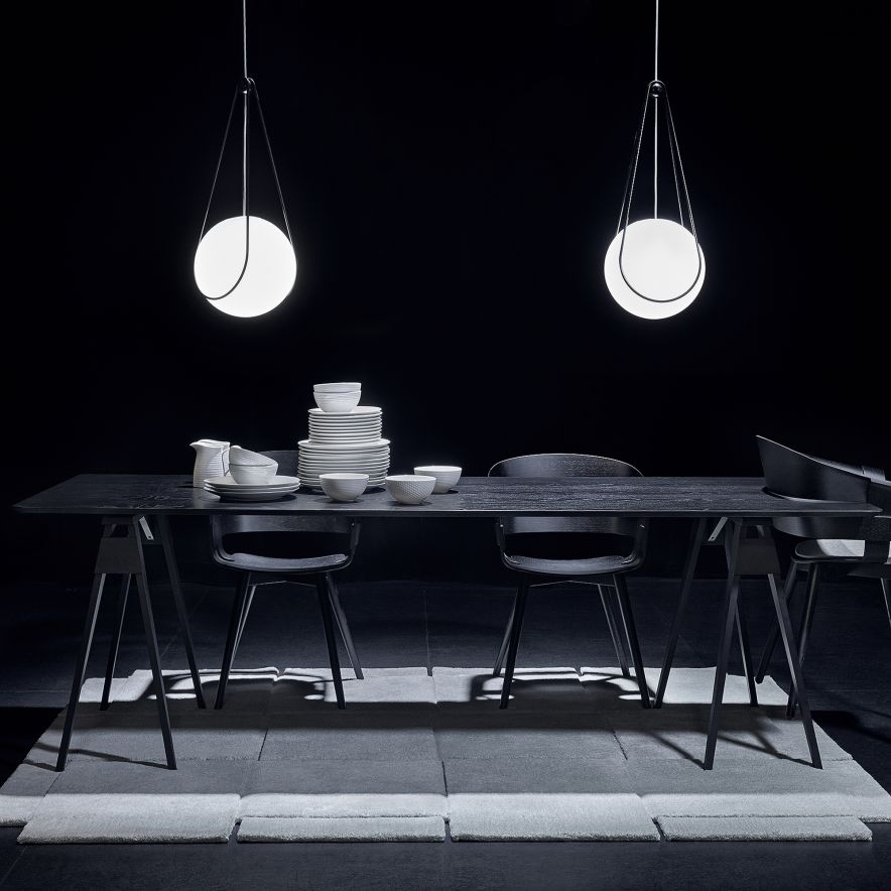 Lamphållare Kosmos 300mm svart