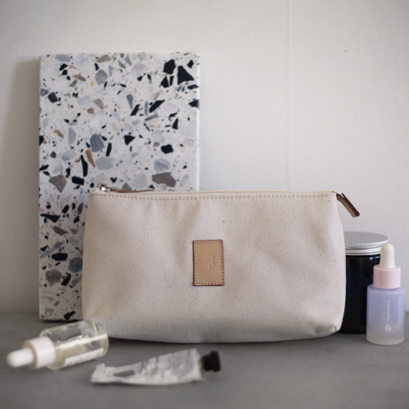 Make up bag DT 21x12 cm Natur