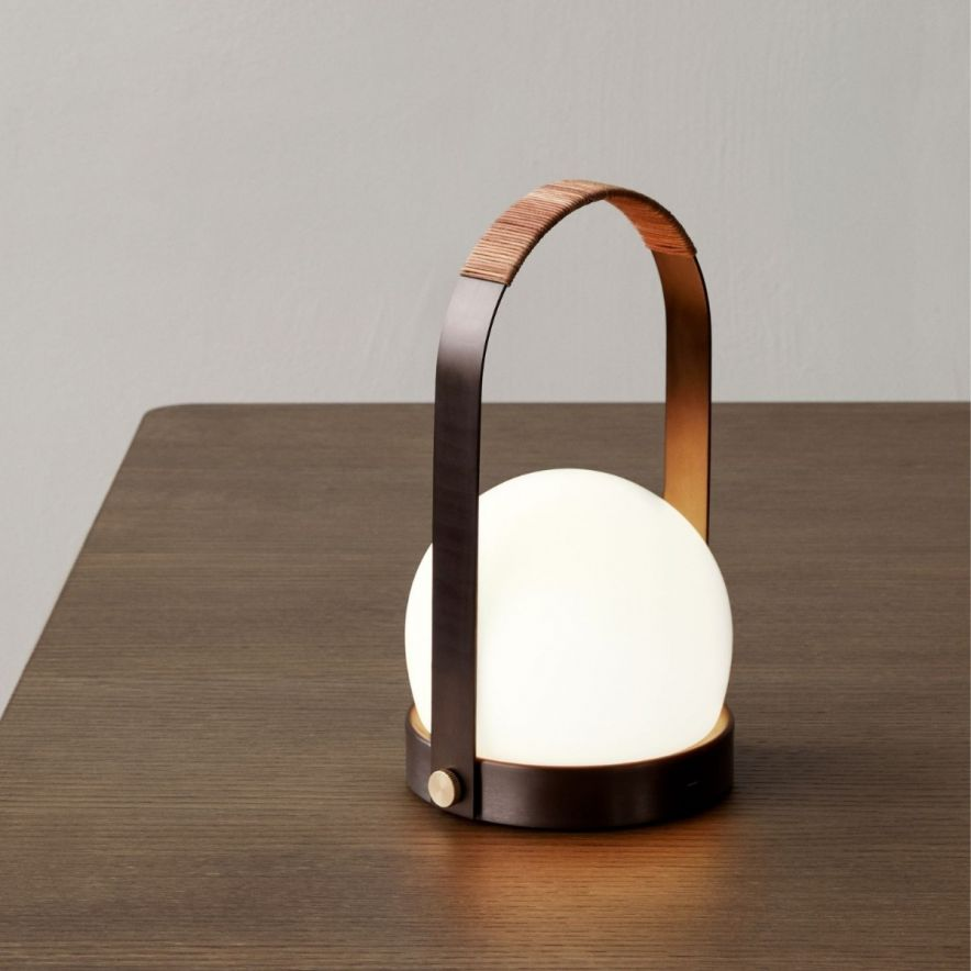 Lampa Carrie LED Brons