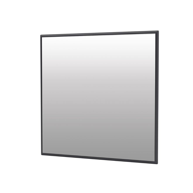 Mini Spegel Fyrkantig 35x35 cm Anthracite