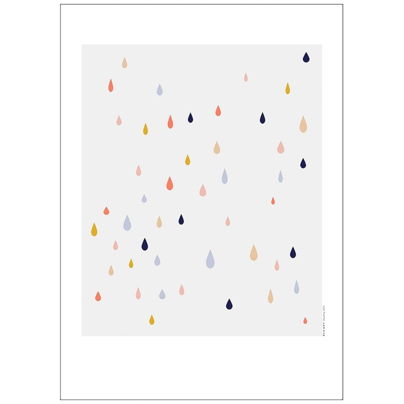 Poster Dripdrop 50x70
