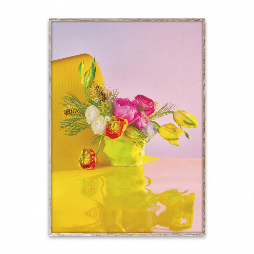 Poster Bloom 03 Yellow