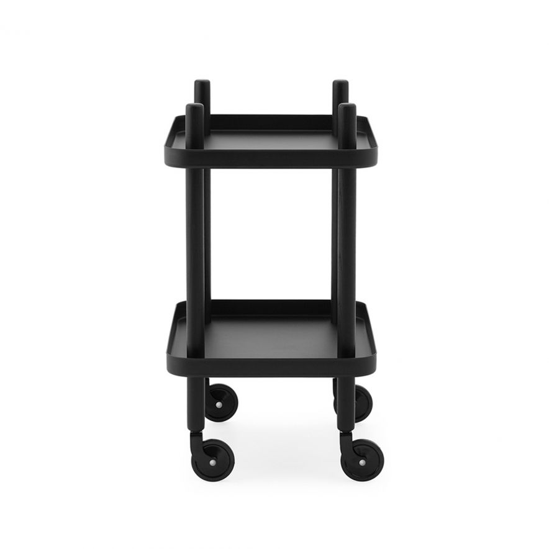 Serveringsvagn Block svart/svart