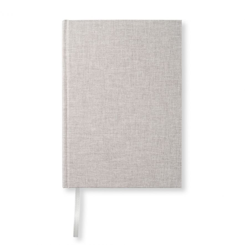 Skrivbok A5 Textil natur