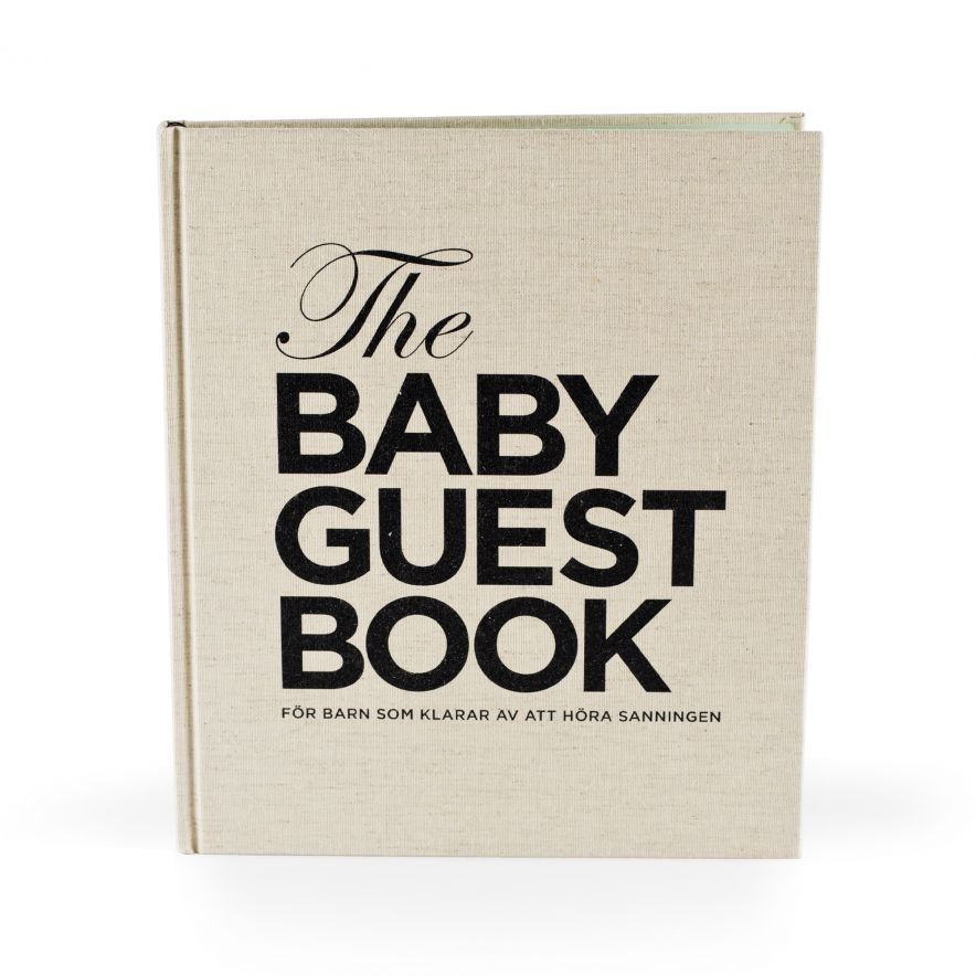 The Baby Guest Book SV