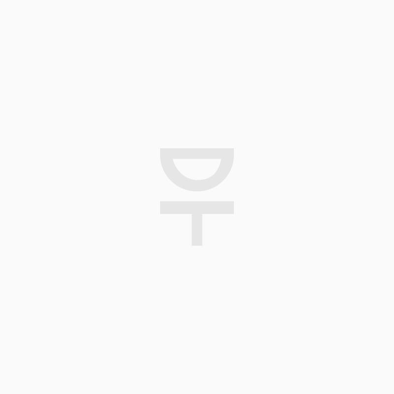 Väggspegel Norm oval 40x130cm svart
