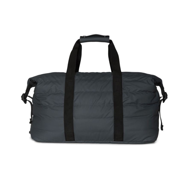 Weekend bag quilted mörkgrå