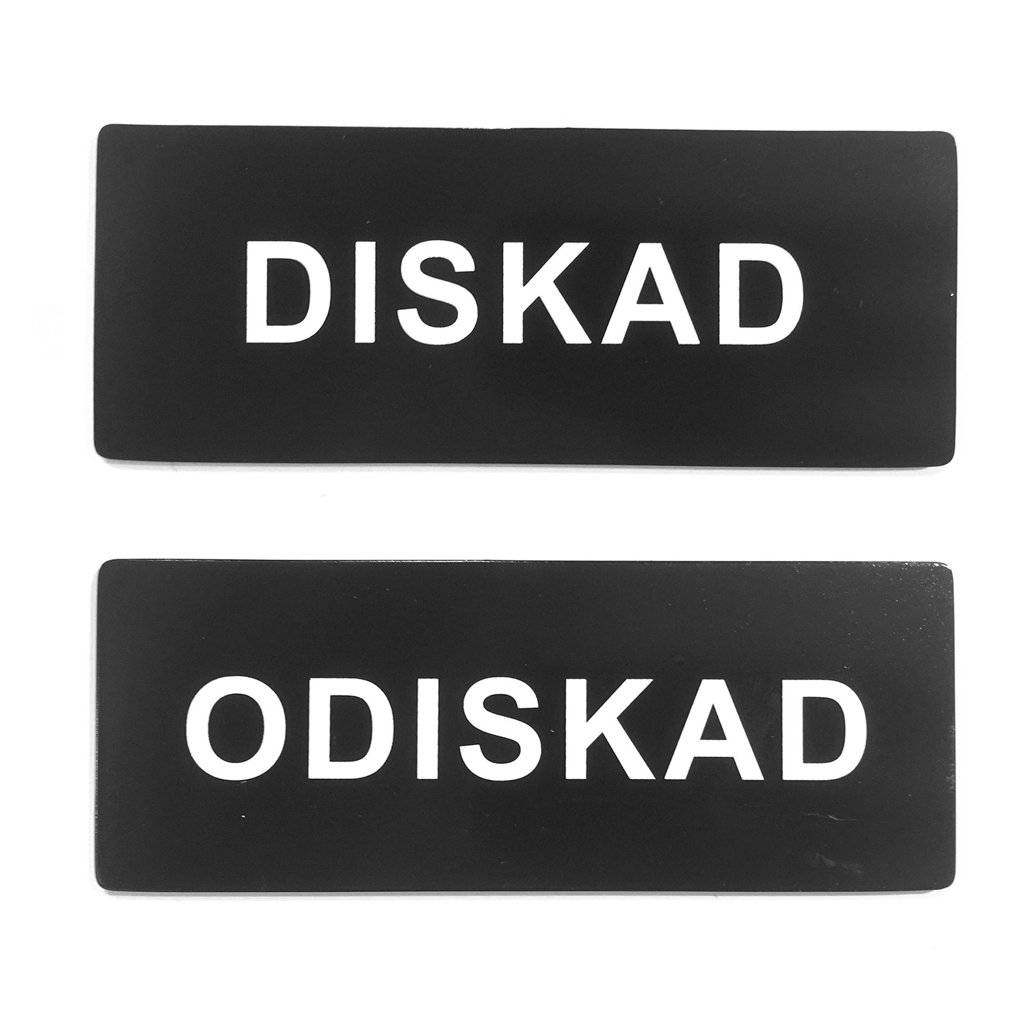 Designtorget Diskmaskinsskyltmagnetisk