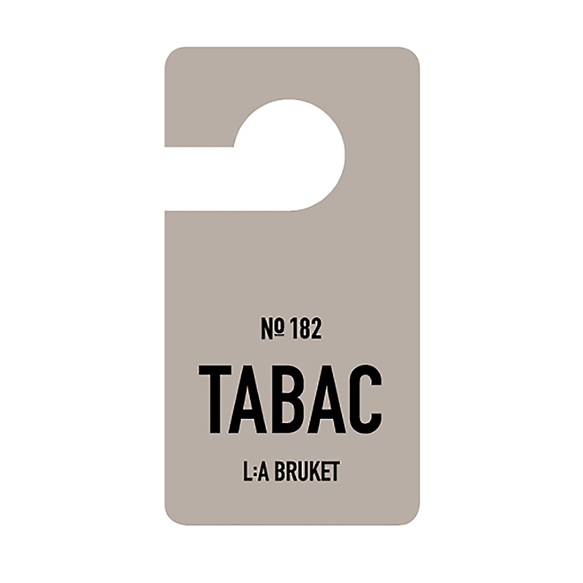 L:a Bruket Fragrance Tag Tabac