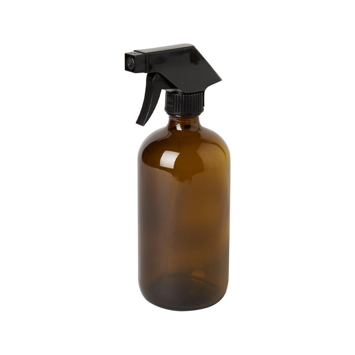 Designtorget Glasflaska med spray DT Brun