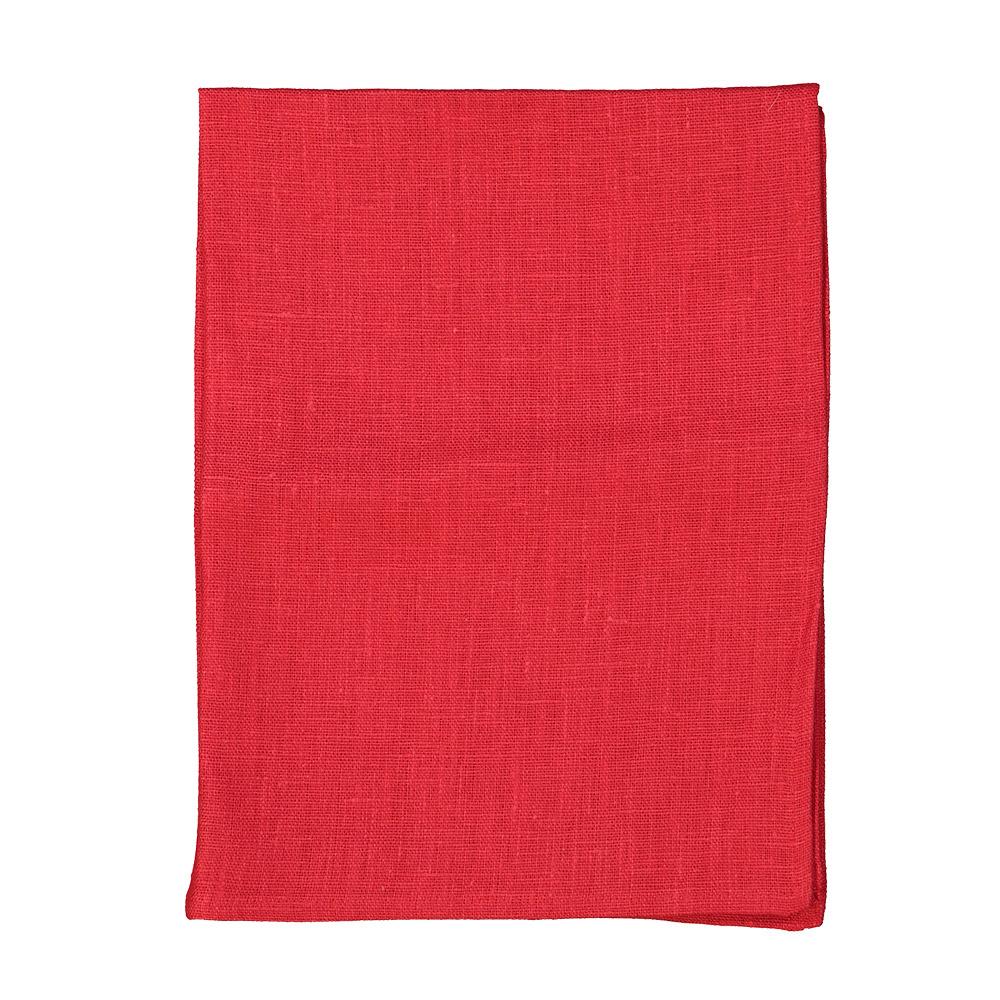 Designtorget Handduk Grovlinne Röd