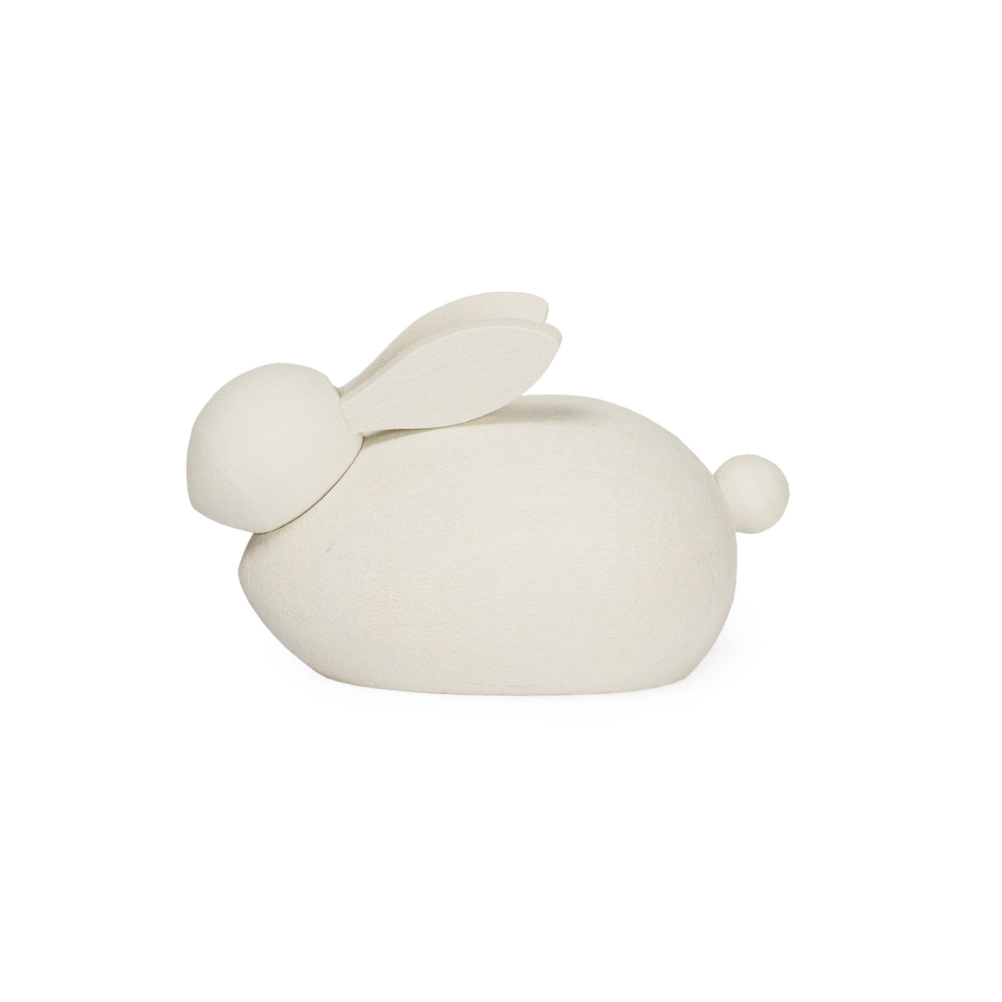 Designtorget Hare Trä vit