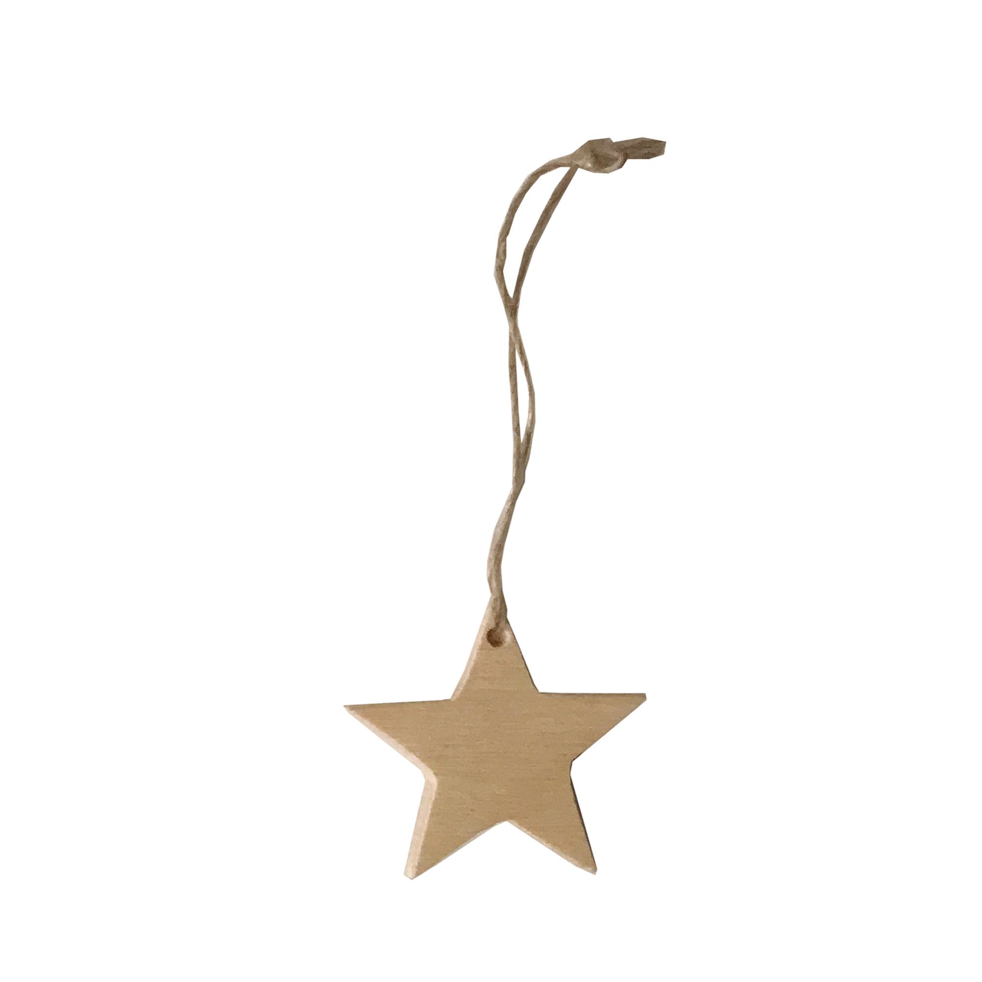 Designtorget Julhänge stjärna S natur