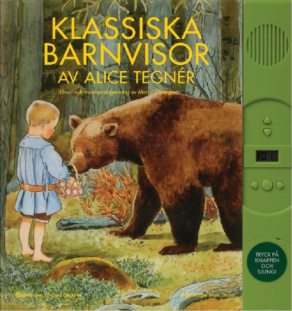 Designtorget Bok Klassiska barnvisor av Alice Tegnér