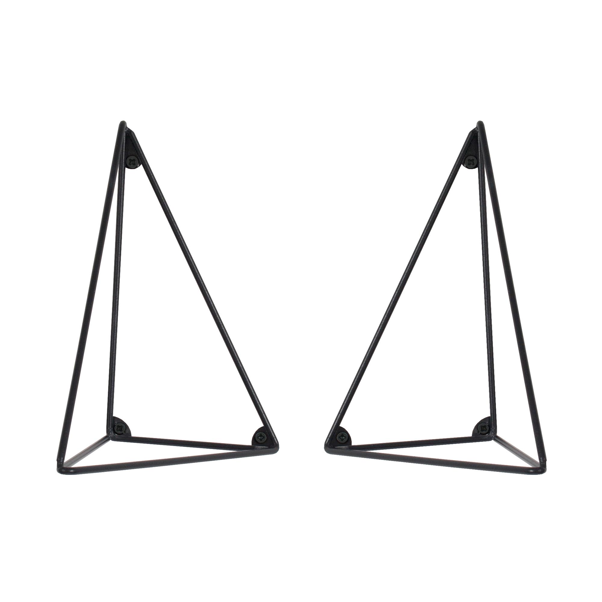 Designtorget Konsol Pythagoras svart 2-pack