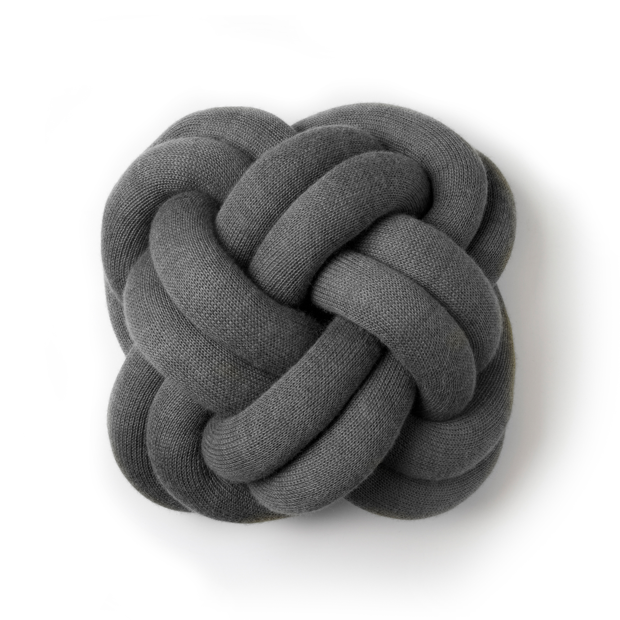 Designtorget Kudde Knot grå