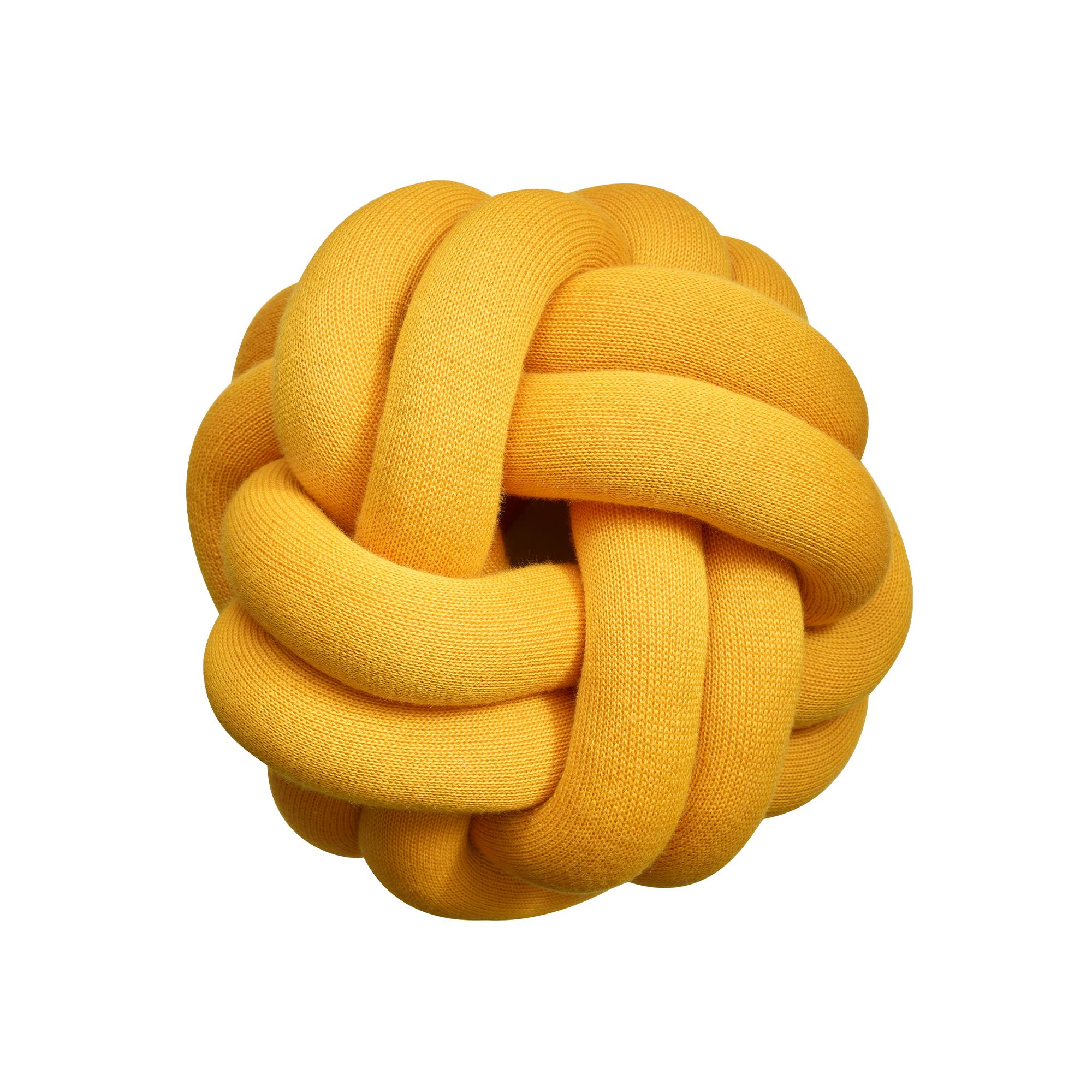 Designtorget Kudde Knot orange