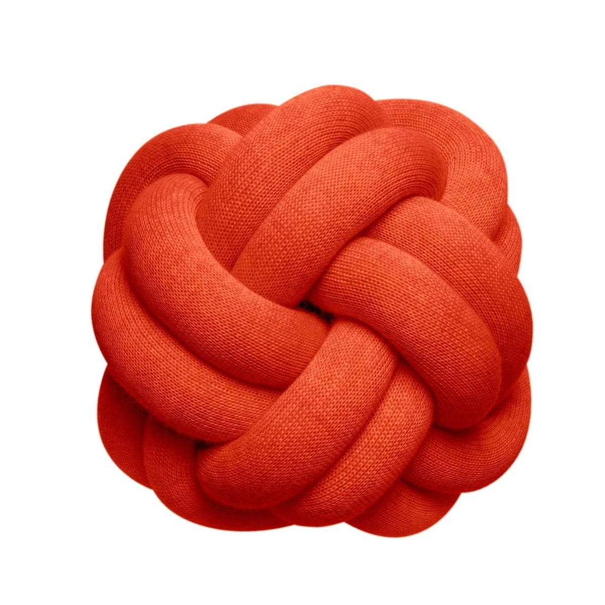 Designtorget Kudde Knot tomato red