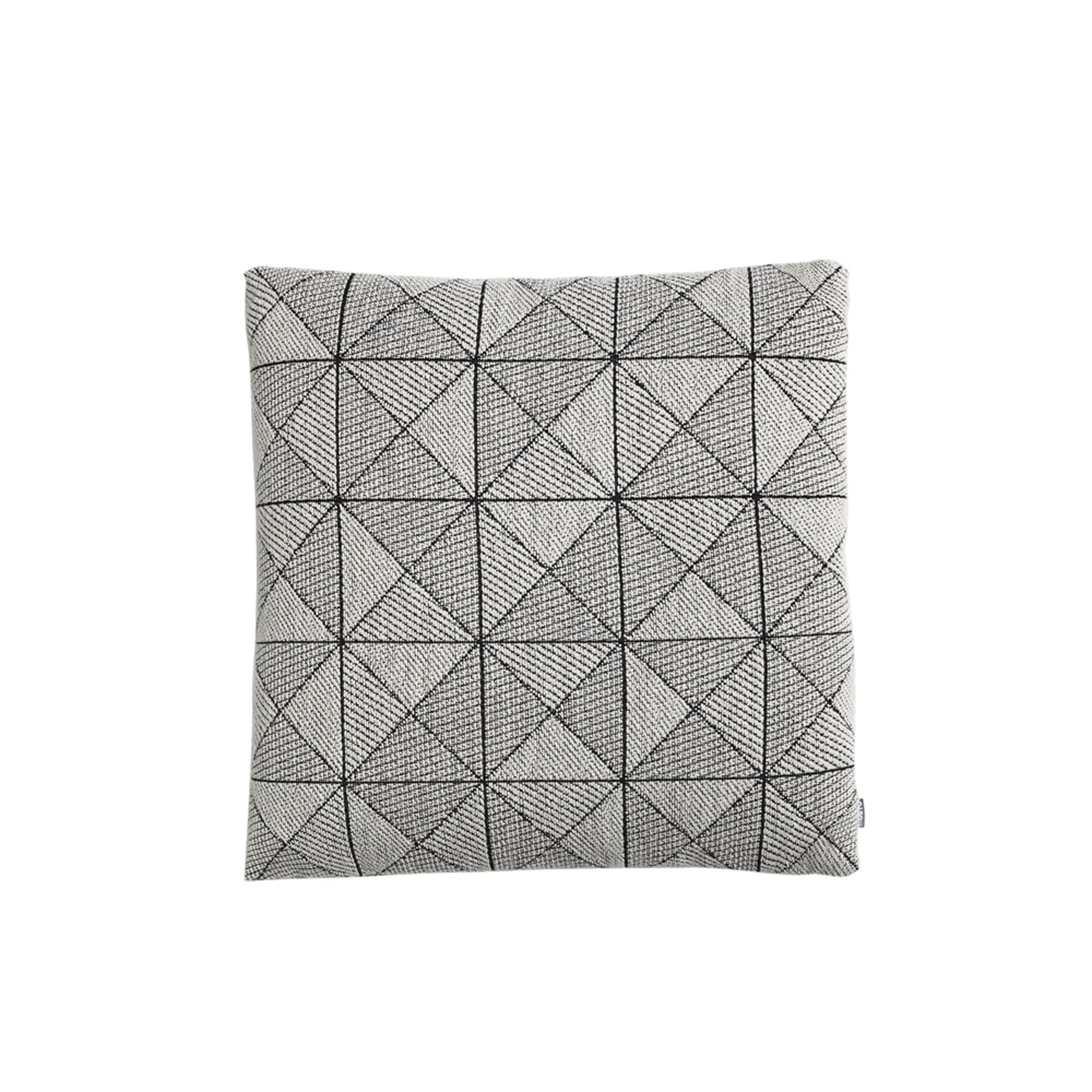 Designtorget Kudde Tile svart/vit