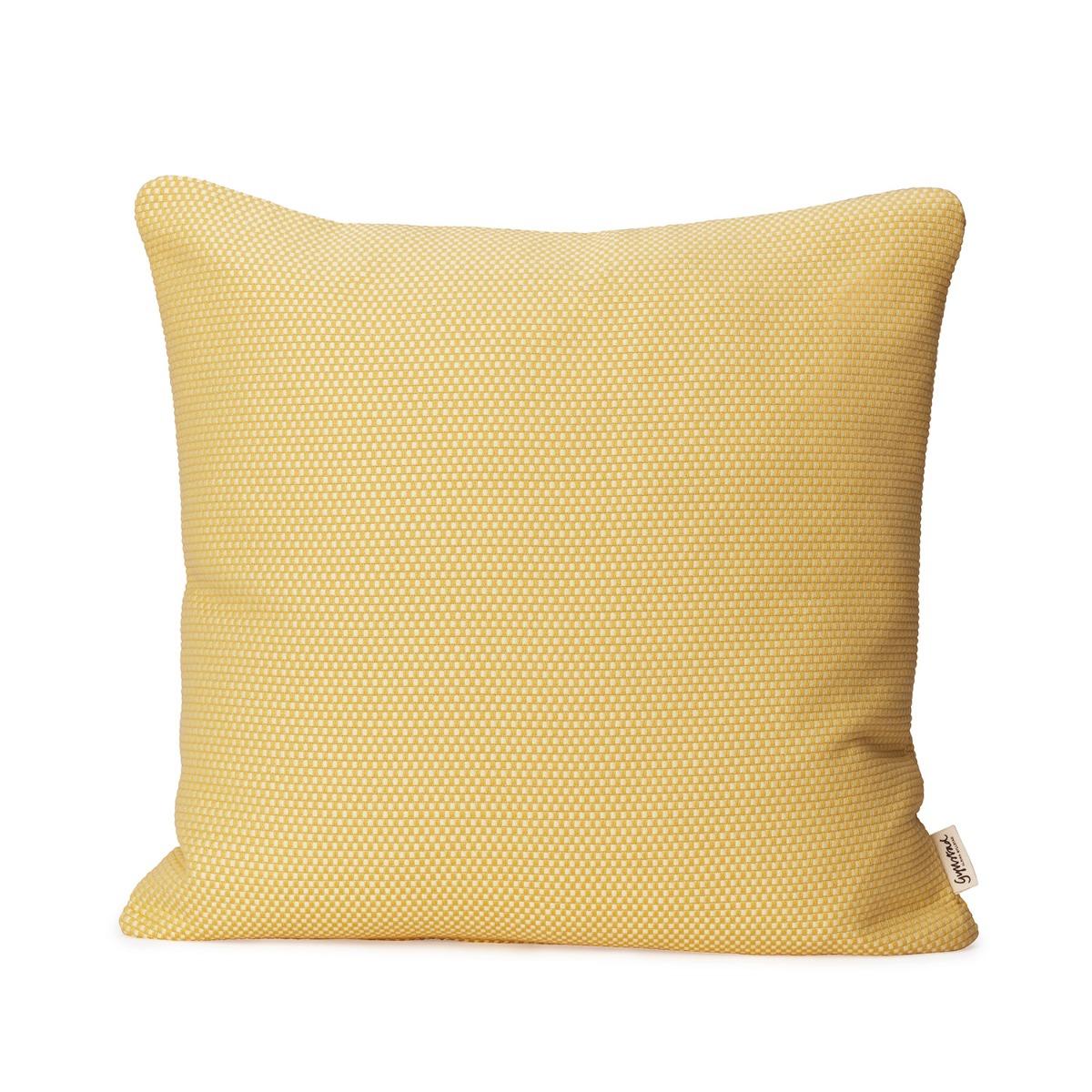 Designtorget Kuddfodral Heavy weave Vaniljgul