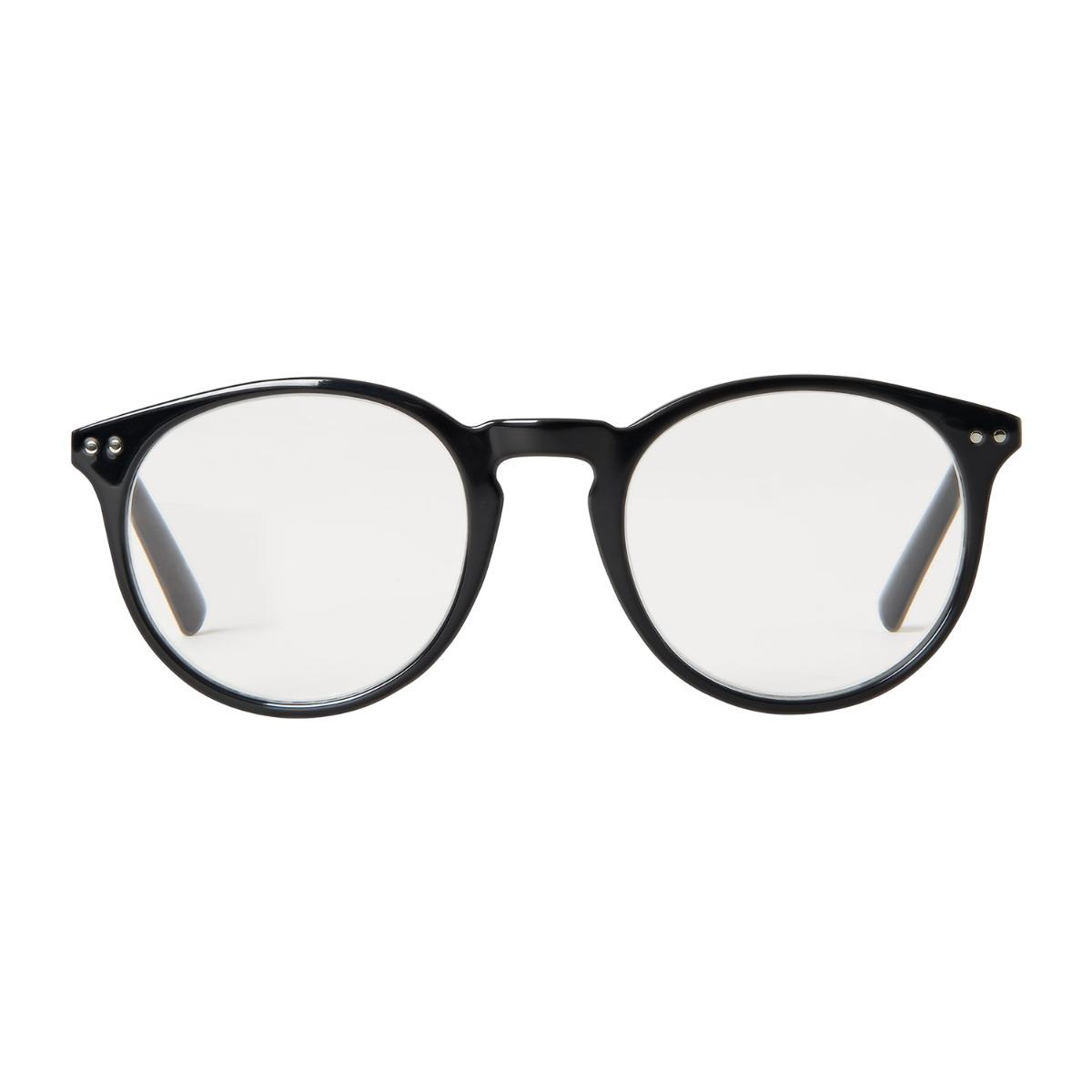 Designtorget Läsglasögon DT Rund Svart +1,5