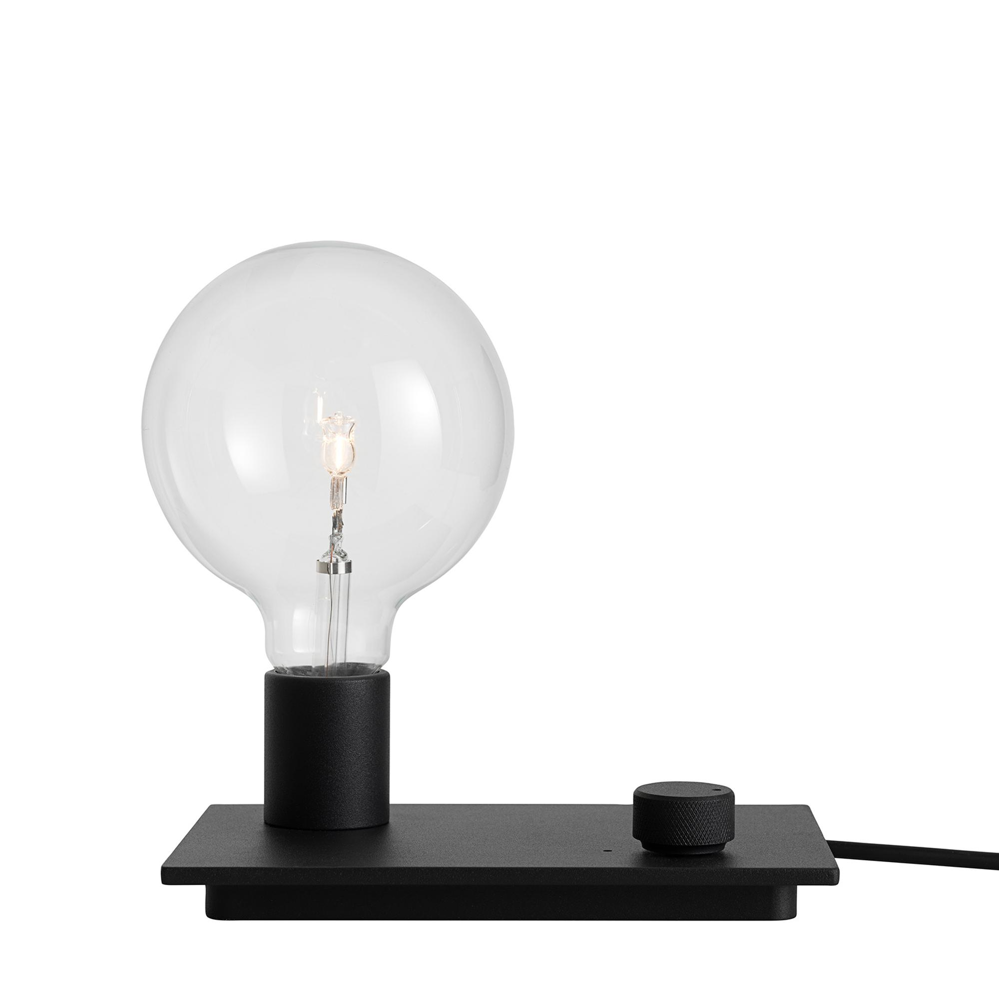 Muuto Designtorget Lampa Control svart LED