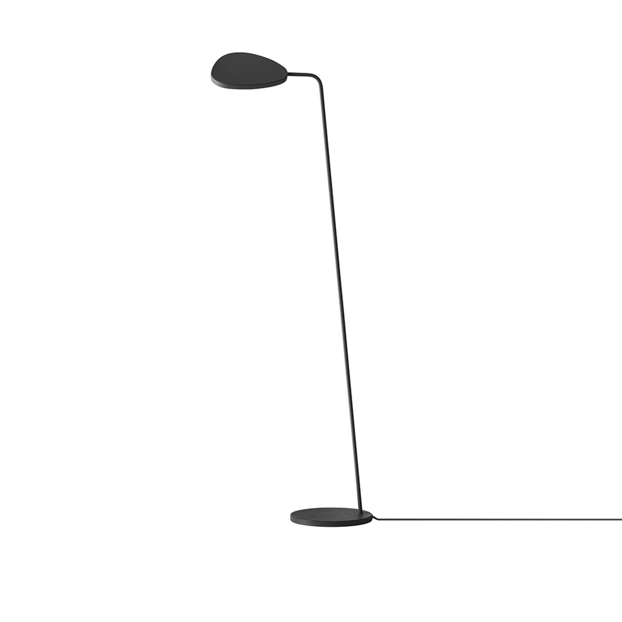 Designtorget Lampa Leaf golv svart