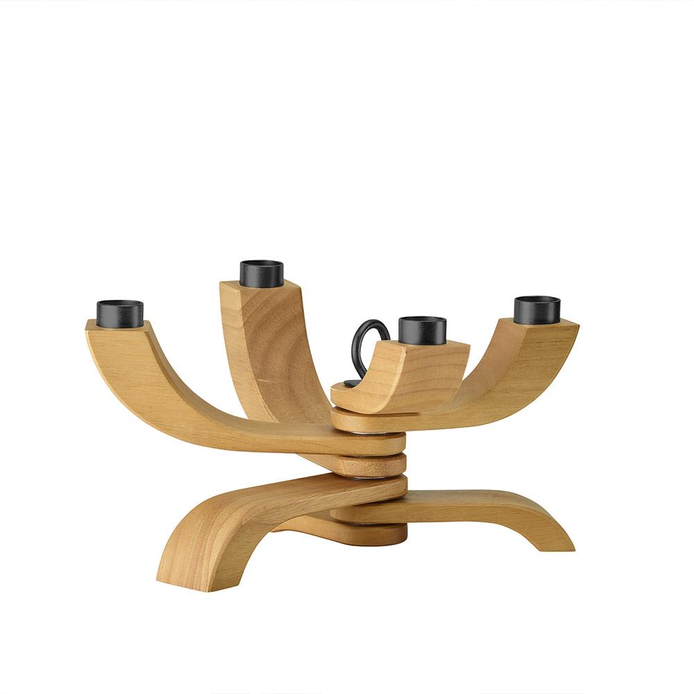 Designtorget Ljusstake Nordic Light 4 trä