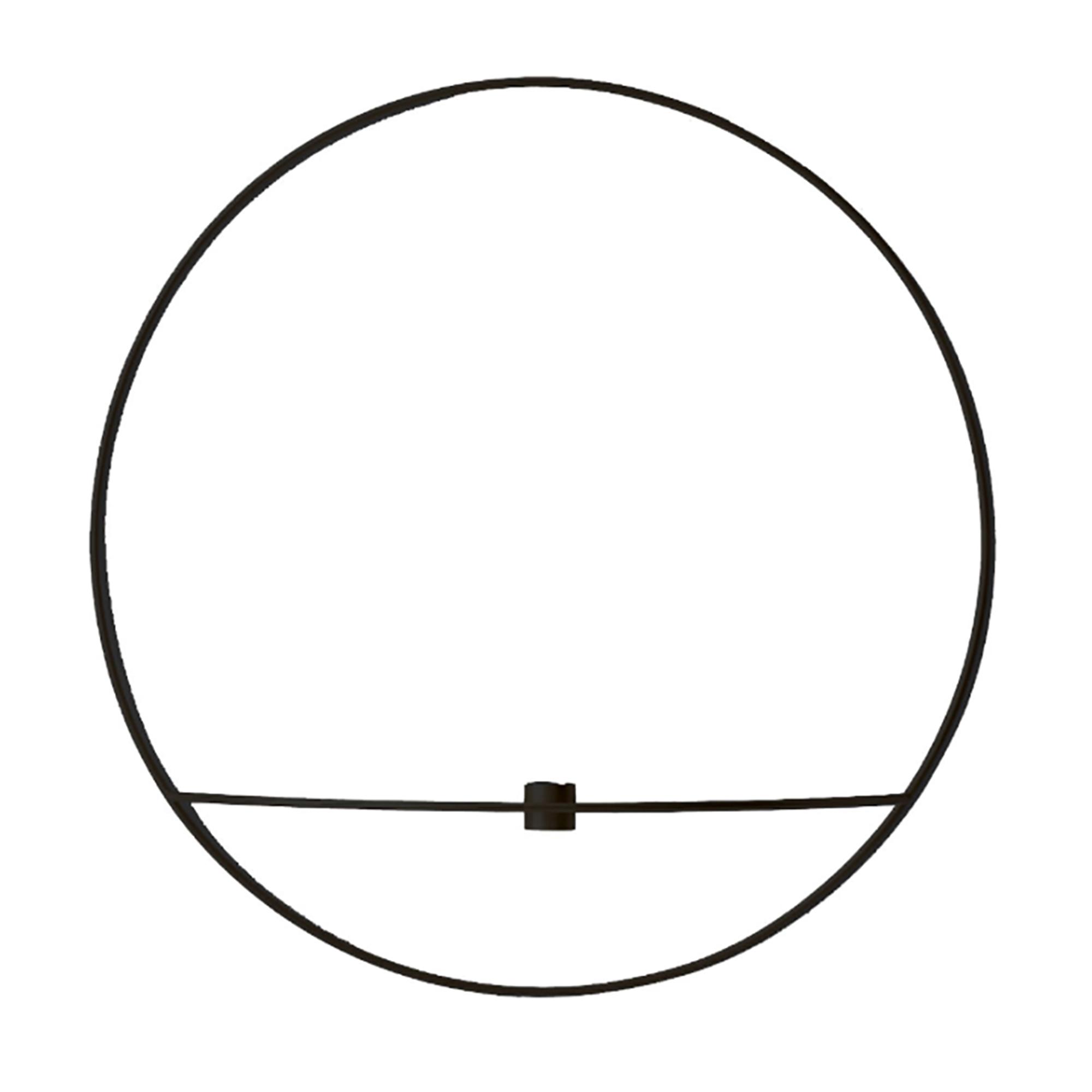 Designtorget Ljusstake POV Circle L svart