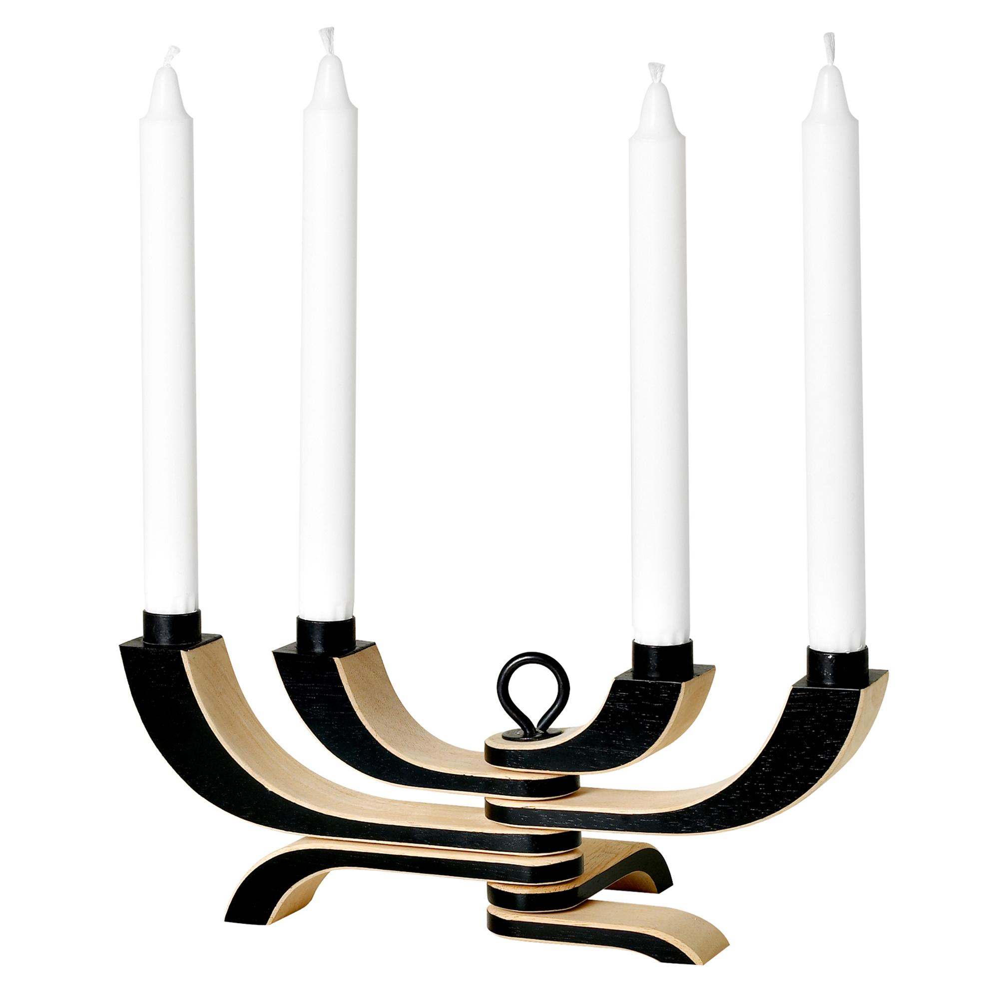 Designtorget Ljusstake Nordic Light 4 svart