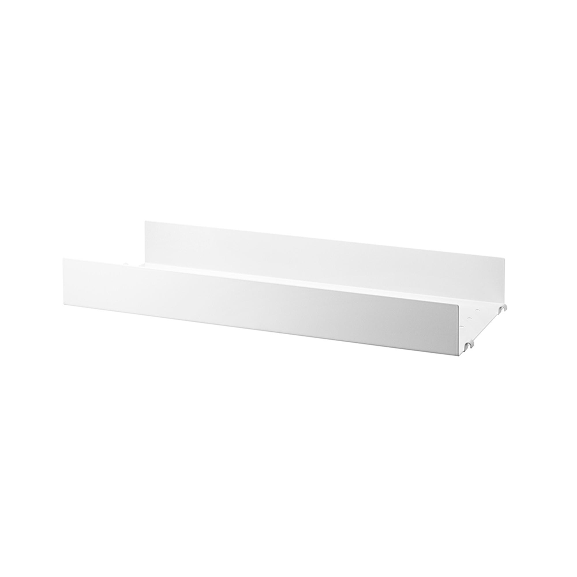 Designtorget Metallhyllplan Hög 58x20 vit