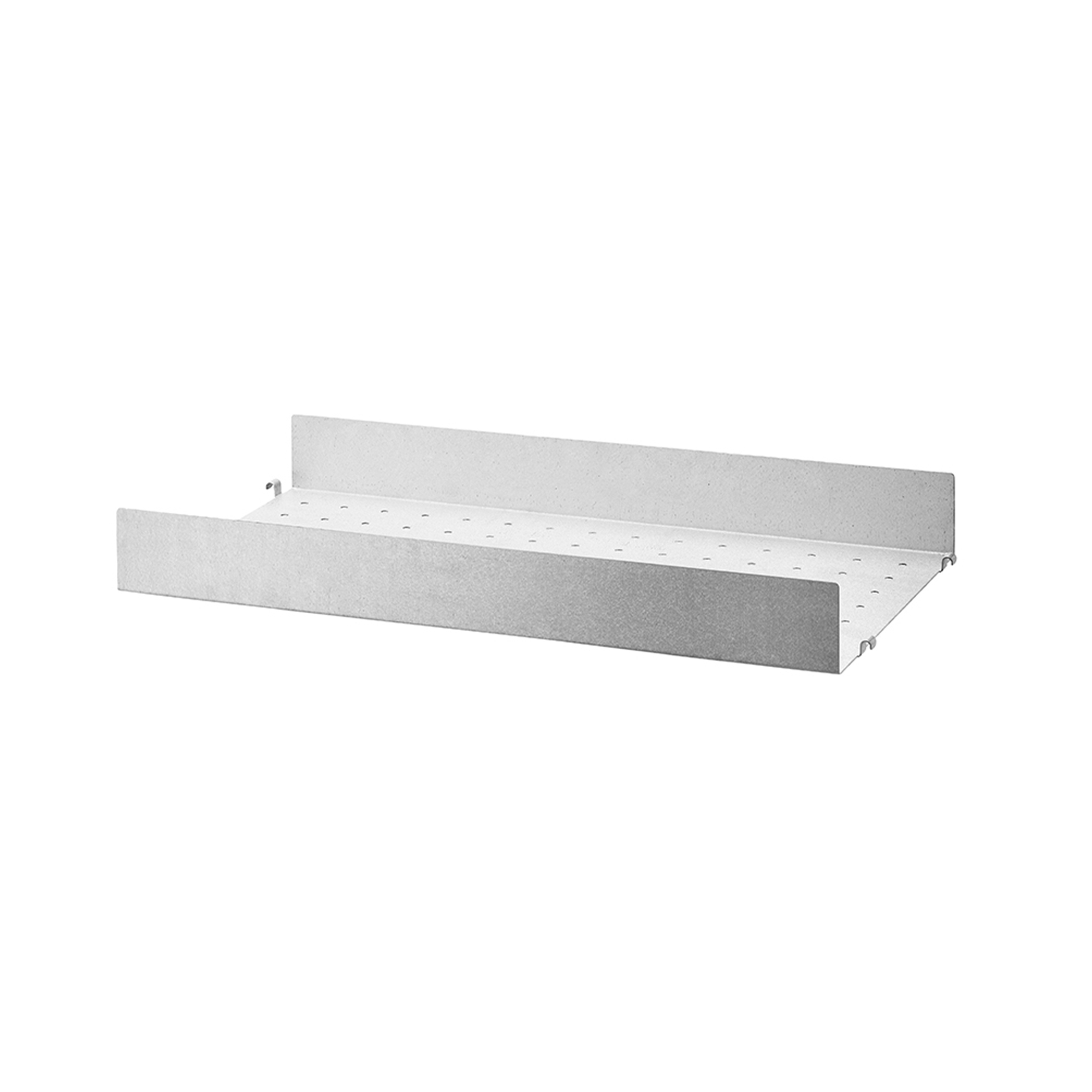 Designtorget Metallhyllplan Hög 58x30 galvaniserad