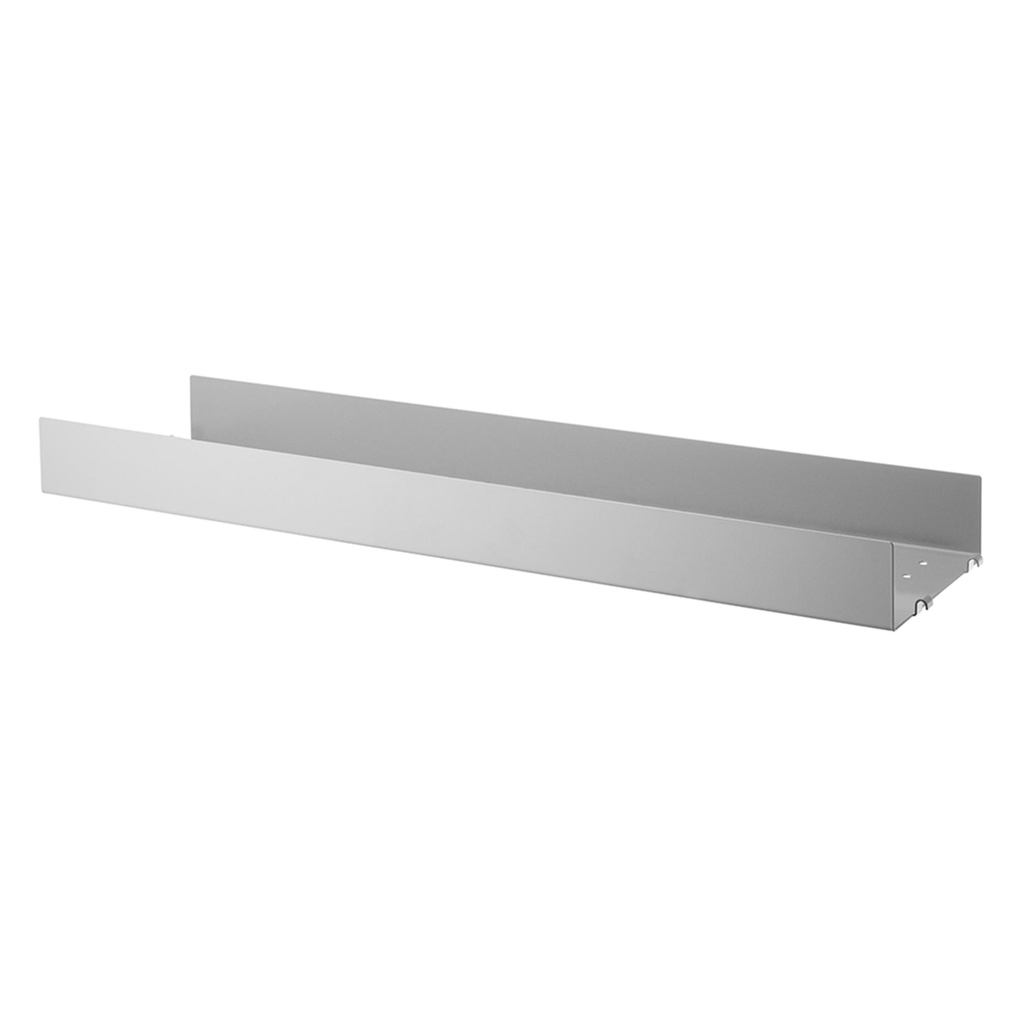 Designtorget Metallhyllplan Hög 78x20 grå