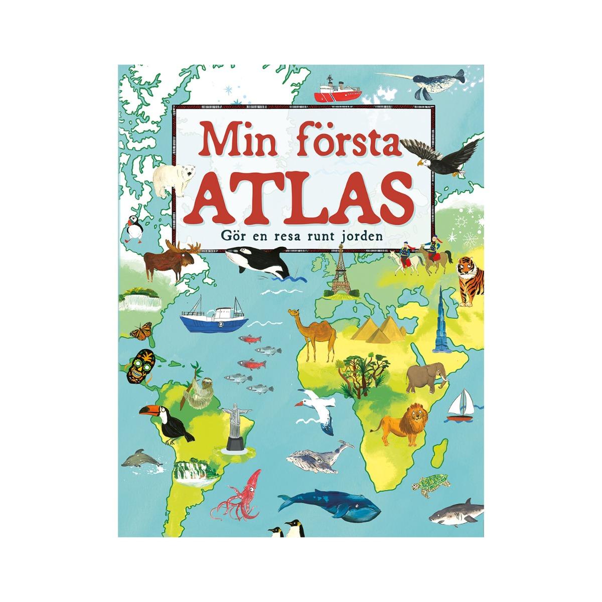 Designtorget Bok Min första atlas